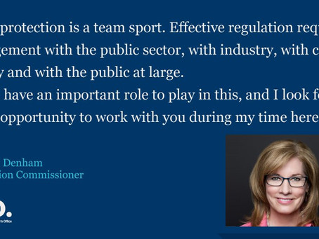 New Information Commissioner sets out her plans