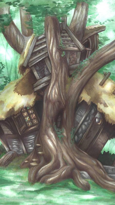 La maison dans l'arbre