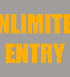 Unlimited Class Entry Fee