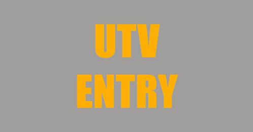 UTV Class Entry Fee