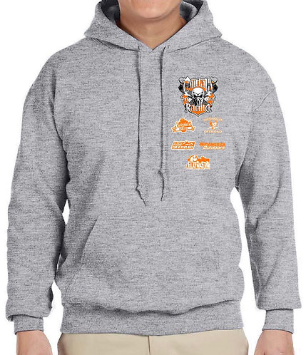 Outlaw Grey Hoodie