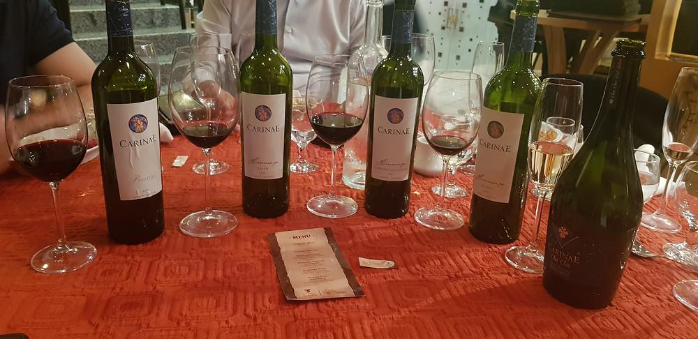 Degustação de vinhos da CarinaE | © Restaurante Solaris