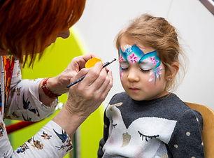 grimeren en schminken van kinderen