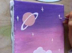 canvaskunst creatieve workshops voor kinderen bij Creakleur