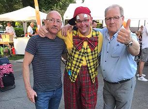 clown en clownerie evenementen act en typetje straatanimatie