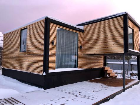 Фасад с террасой 1