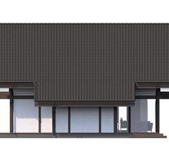 Фасад вид слева