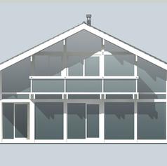 Фасад вид спереди