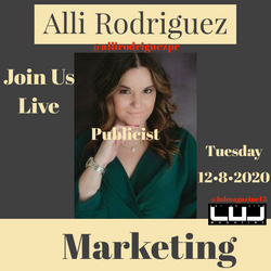 Marketing tips & what a PR does on a daily with @allirodriguezpr