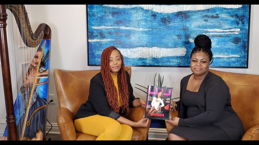 """Ep. #3: """"Living In The Moment"""" with Grammy Nominated Actress/Singer/Composer Lyrika Holmes"""
