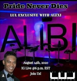 Alibi Night Club & the Owner Alex