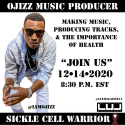 Deep & Dope conversation with Producer & Sickle Cell Warrior @iamojizz