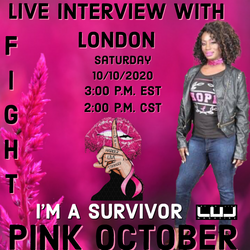 Exclusive Interview with @london_runway_dgz_hsv as we talk BREASTCANCER