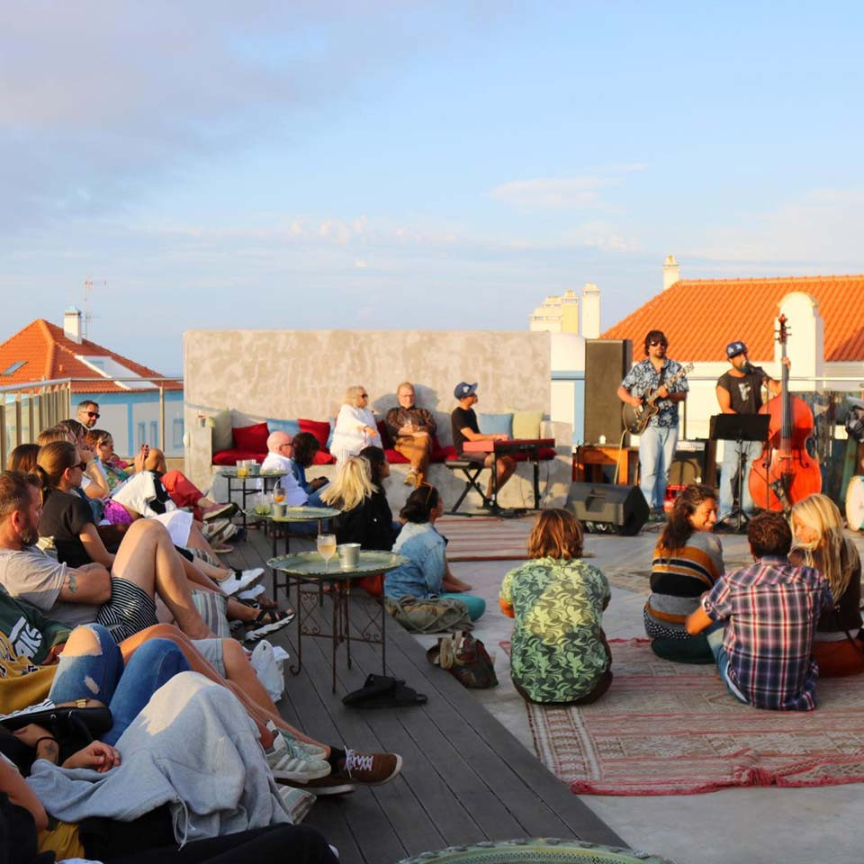 Sunset Rooftop Jam Session