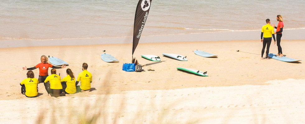 Surf Sessions am Strand