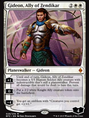 Gideon, Aliado de Zendikar / Gideon, Ally of Zendi
