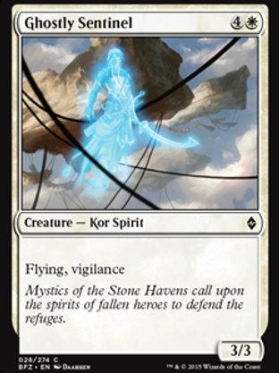 Sentinela Fantasmagórica / Ghostly Sentinel