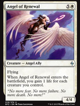 Anjo da Renivação / Angel of Renewal