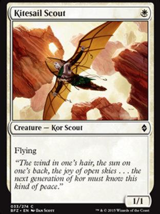 Batedor Aerovelista / Kitesail Scout