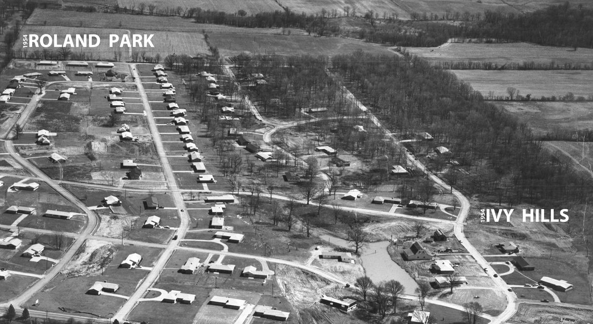 Aerial Pic - Roland Park & Ivy Hills