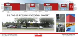 Building 1S Renovation Concept