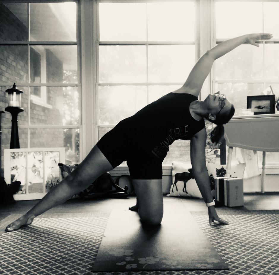 Yoga is:  Moving Meditation