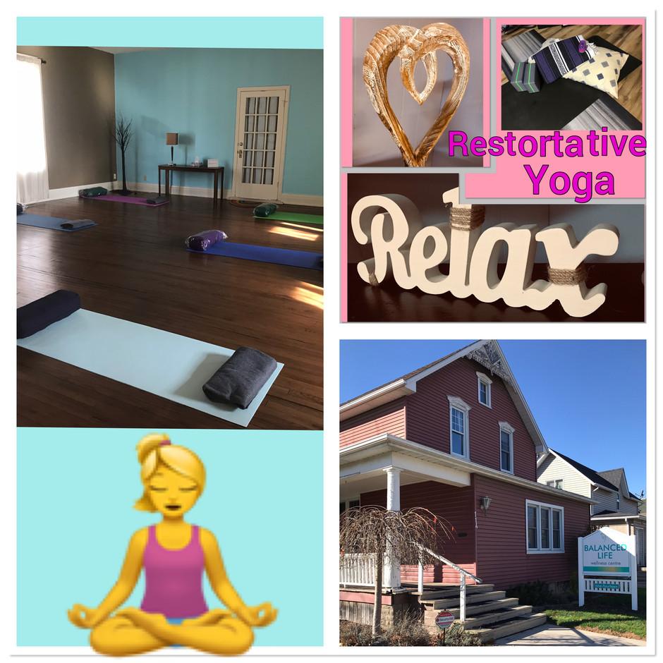 Mindful Movement Restorative and Meditation