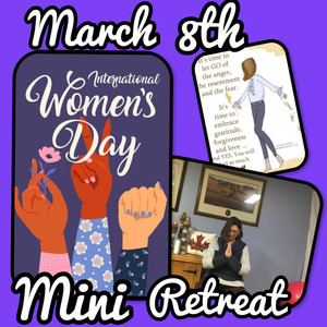 International Women's Day Mini Retreat on Zoom