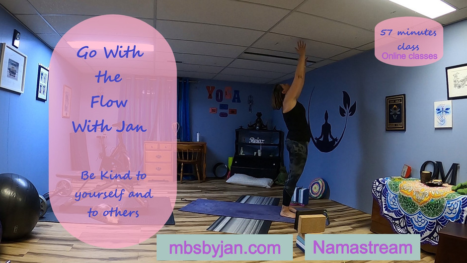 Go With The Flow with Jan - Online Classes
