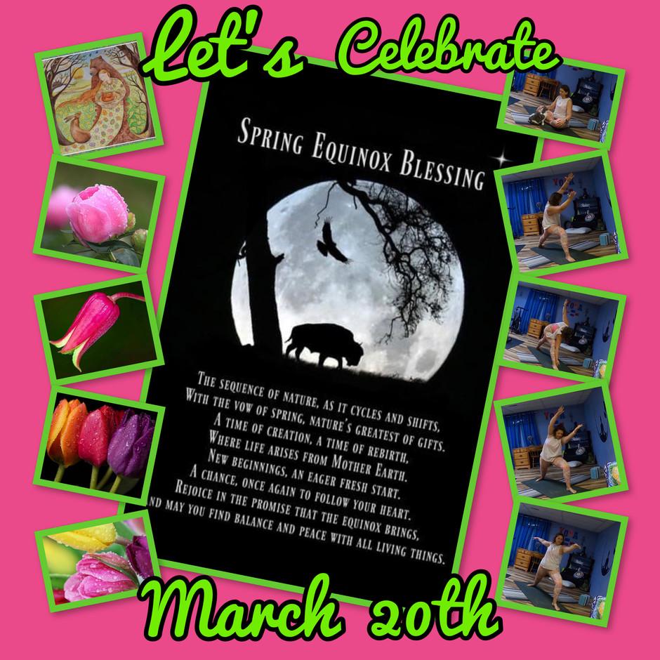 Spring Equinox March 20th