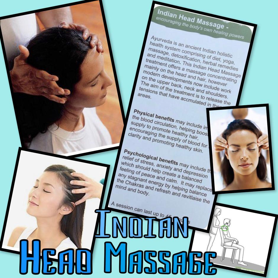 Indian Head Massage and Reiki Healing Massage