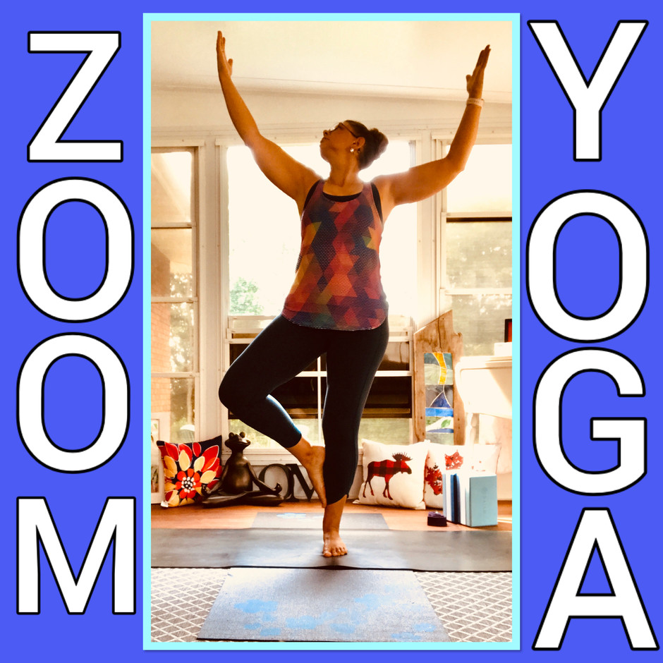 Zoom Yoga Schedule August 24-30th