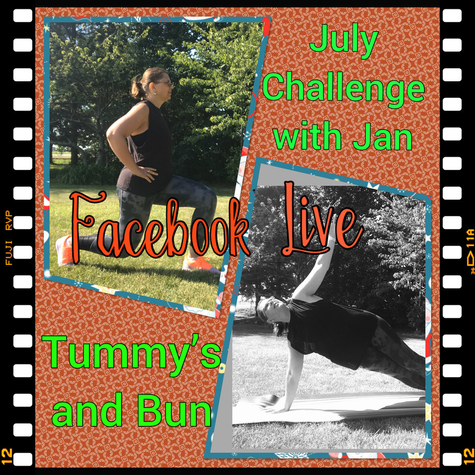 Tummy's and Bun Challenge in July