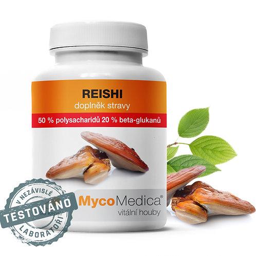 Reishi 50 % ve vysoké koncentraci | MycoMedica