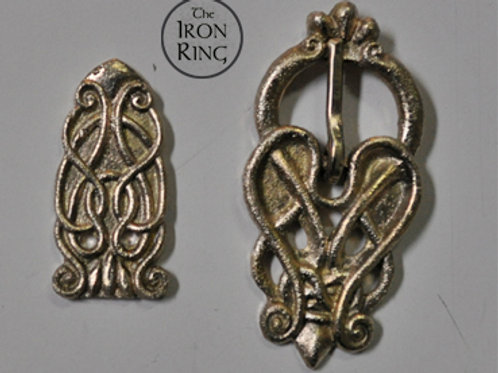 Viking Buckle with belt tip