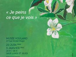 Musée Vouland: exposition Jean-Marie Fage
