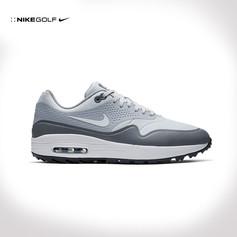 Nike / AIR MAX 1 G GOLF SHOES 2019 PLATINUM/WHITE/GREY