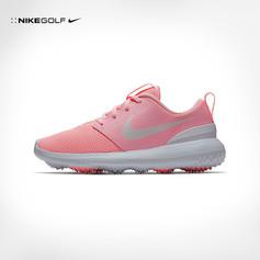 Nike / JUNIOR ROSHE G PINK GOLF SHOE