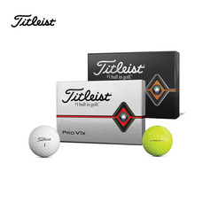 TITLEIST / PRO V1X GOLF BALLS YELLOW 2019