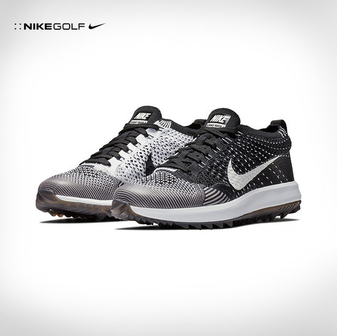 Nike / Ladies Flyknit Racer G Spikeless Golf Shoes