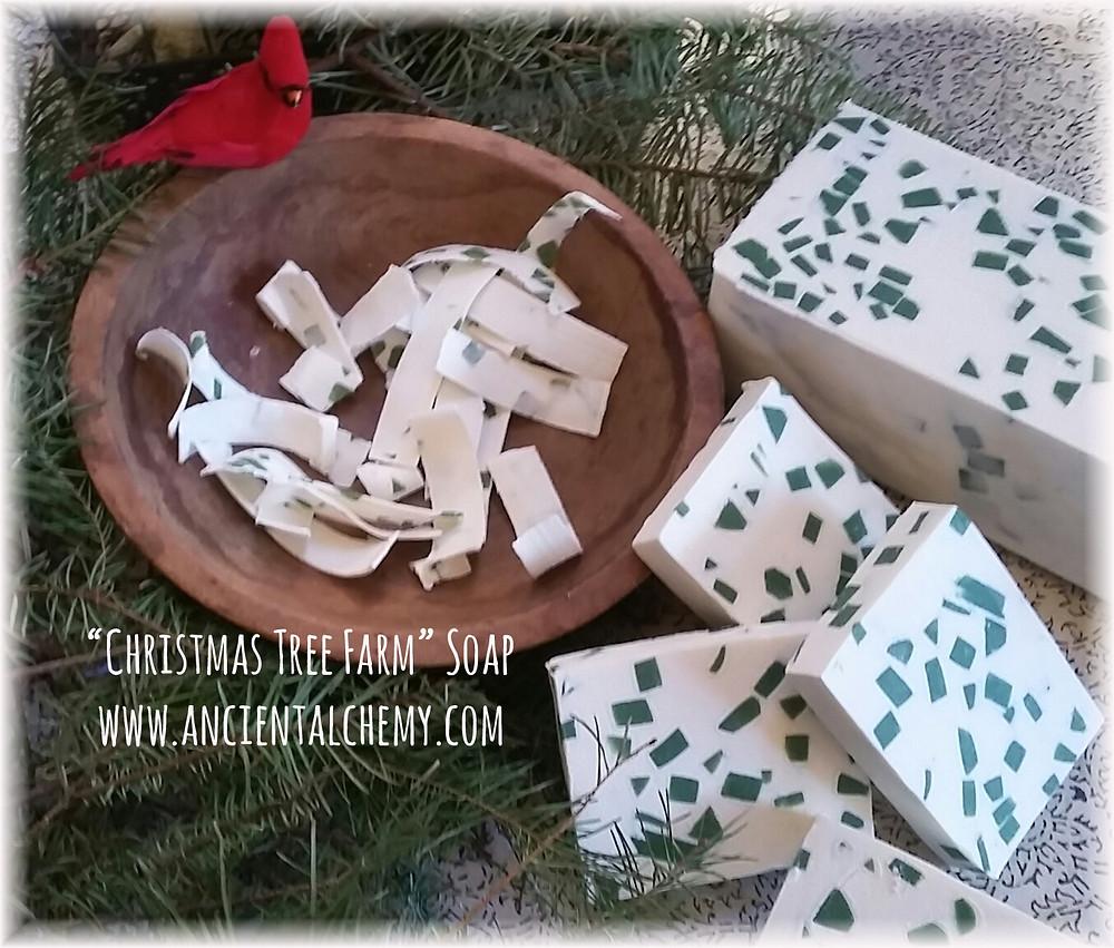 Christmas Tree Farm Soap - Ancient Alchemy