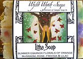 Wylde Wytch Soaps - Ancient Alchemy witch soaps, Sprinxhilaration Art Label by Carol Ochs