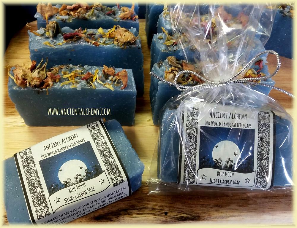 Blue Moon Night Garden Soap - Ancient Alchemy