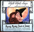 Wylde Wytch Soaps - Ancient Alchemy witch soaps, Warmed By The Moon Art Label by Carol Ochs