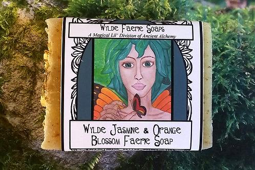 Wylde Faerie Soap - Jasmine & Orange Blossom Soap
