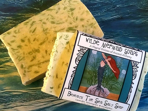 Wylde Mermaid Soap - Beneath The Sea Salt Soap