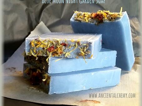 """Blue Moon Night Garden Soap!"""