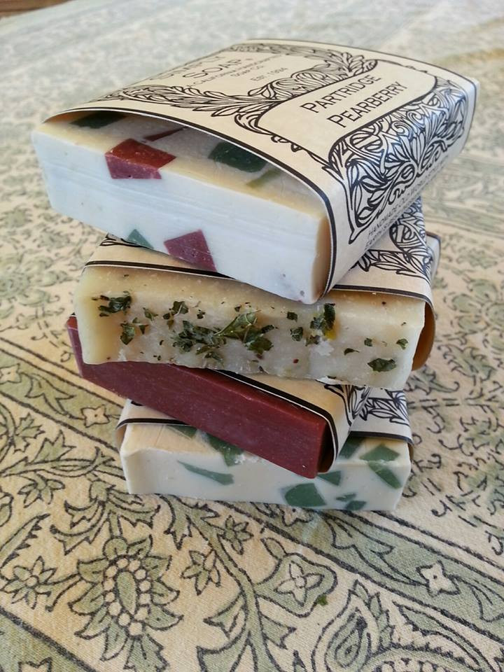 holiday handcrafted soap discount