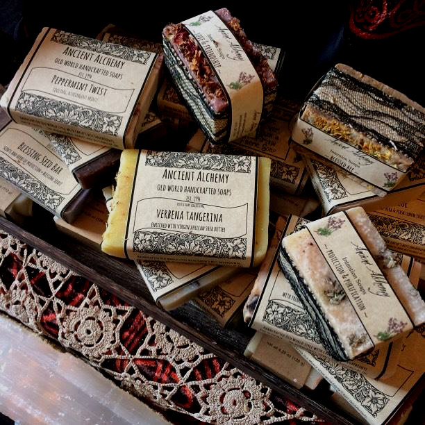 Handmade Handcrafted Soaps at Ancient Alchemy
