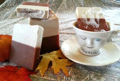 Pumpkin Chai Latte Soap - Ancient Alchemy - www.ancientalchemy.com